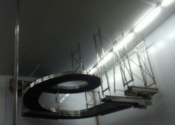 Kunststoff-Gliederband-Kurve